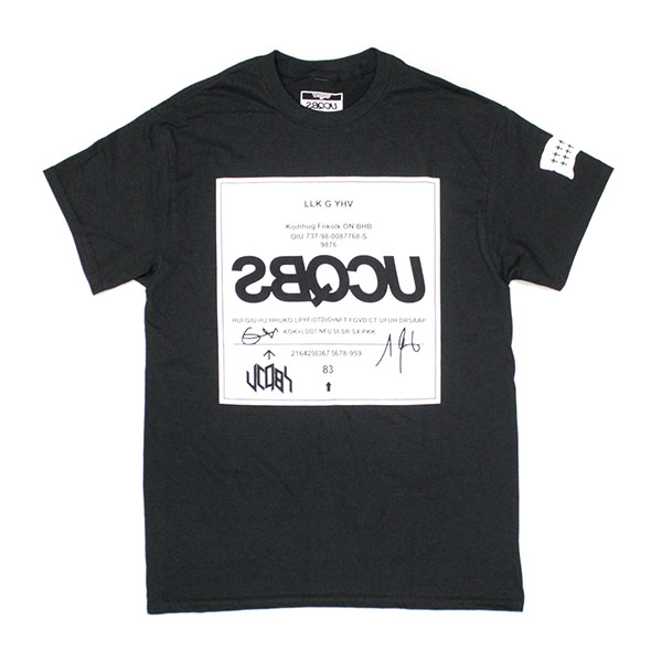 UCQBS-2020AW-#01-T-shirts-BLK