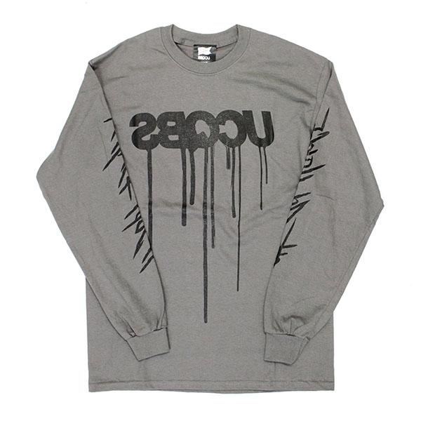 UCQBS-2021SS #43 Long sleeve T-shirt Mud Gray