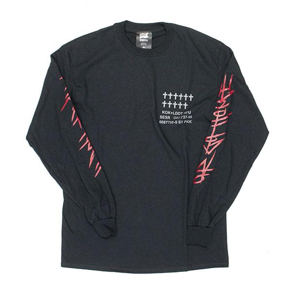 UCQBS-2021SS #44 Long sleeve T-shirt BLK