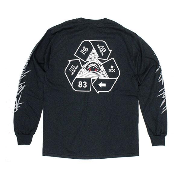 UCQBS-2021SS-#51-LS-T-shirt BLK